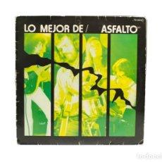Discos de vinilo: LP. ASFALTO. LO MEJOR DE ASFALTO. (VG/VG). Lote 131240231
