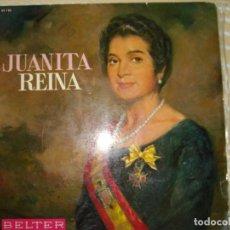 Discos de vinilo: JUANITA REINA , LP BELTER EDITADO EN 1967. Lote 131244783
