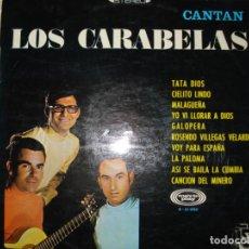 Discos de vinilo: CANTAN LOS CARABELAS, LP AÑO 1968. Lote 131244851