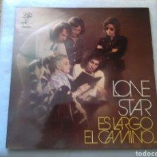 Discos de vinilo: LONE STAR LP ES LARGO EL CAMINO 1972 GATEFOLD VG+ RARO. Lote 131247994