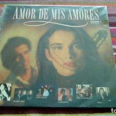 Discos de vinilo: AMOR DE MIS AMORES -2 LPS RUMBA 3,GIPSY KINGS ,CAMALEON,JOSE E LOS REYES, PERET... ARCADE 1989. Lote 131252787