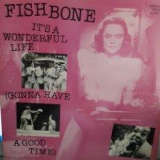 Discos de vinilo: FISHBONE IT'S A WODERFUL LIFE. Lote 131275060