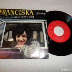 Discos de vinilo: FRANCISKA - LOS COMEDIANTES +3. Lote 131283191