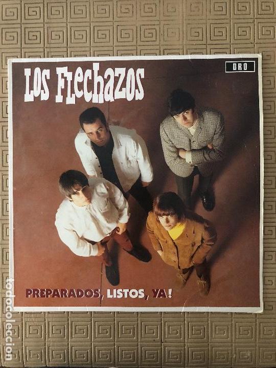LOS FLECHAZOS ?– PREPARADOS, LISTOS, YA! SELLO: DRO ?– 4D0829 FORMATO: LP - 1991 (Música - Discos - LP Vinilo - Grupos Españoles de los 90 a la actualidad)