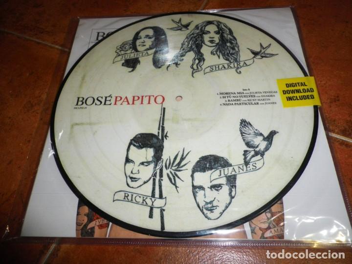 BOSE PAPITO DOBLE LP VINILO PICTURE DISC NUMERADO 061/500 2 LP ALASKA DAVID SUMMERS SHAKIRA MUY RARO (Música - Discos - LP Vinilo - Solistas Españoles de los 70 a la actualidad)