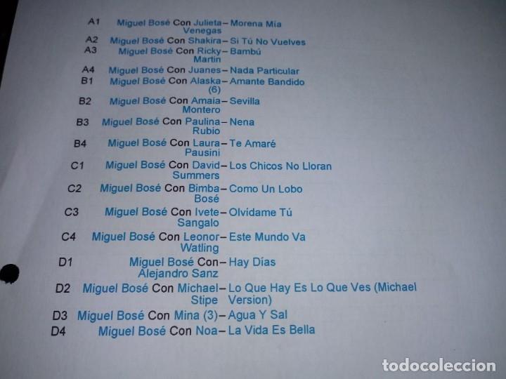 Discos de vinilo: BOSE Papito DOBLE LP VINILO PICTURE DISC NUMERADO 061/500 2 LP ALASKA DAVID SUMMERS SHAKIRA MUY RARO - Foto 3 - 131294247