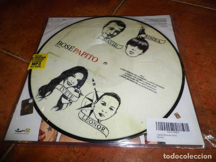 Discos de vinilo: BOSE Papito DOBLE LP VINILO PICTURE DISC NUMERADO 061/500 2 LP ALASKA DAVID SUMMERS SHAKIRA MUY RARO - Foto 2 - 131294247