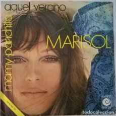 Discos de vinilo: MARISOL - AQUEL VERANO / MAMY PANCHITA - SINGLE SPAIN 1970. Lote 131296155