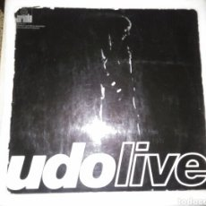 Discos de vinilo: UDO JURGENS LP DOBLE UDO LIVE CON LIBRETO. Lote 131296766