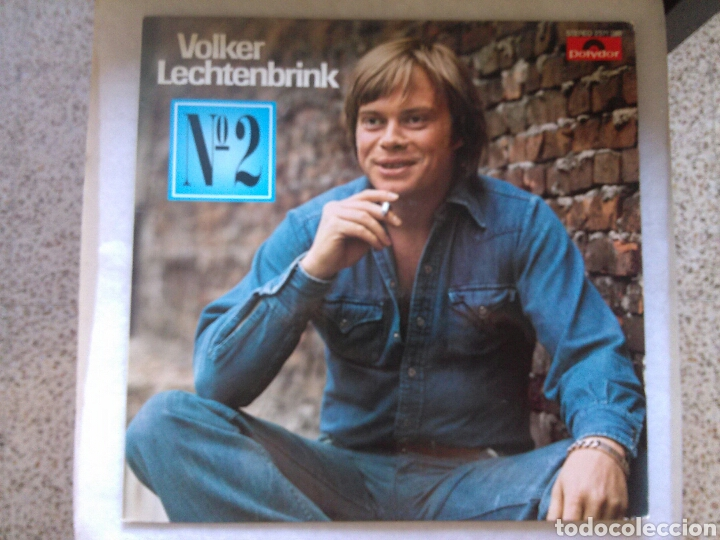 VOLKER LECHTENBRINK LP N°2 ED ALEMANA 1976 RARO VG JOHNNY CASH COUNTRY (Música - Discos - LP Vinilo - Country y Folk)