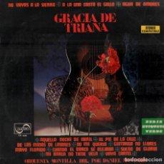 Discos de vinilo: GRACIA DE TRIANA - NO VAYAS A LA SIERRA/ A LA UNA CANTA EL GALLO...LP ZAFIRO DE 1971 ,RF-6169 . Lote 131317990