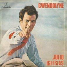 Discos de vinilo: JULIO IGLESIAS - GWENDOLYNE (VINILO). Lote 183190946