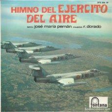 Discos de vinilo: HIMNO DEL EJERCITO DEL AIRE (VINILO). Lote 187112426