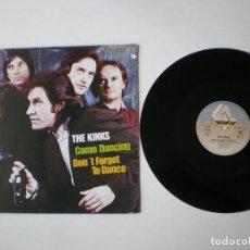 Discos de vinilo: KINKS - COME DANCING + 1 - ARISTA 601011 - EDITADO EN ALEMANIA. Lote 131329646