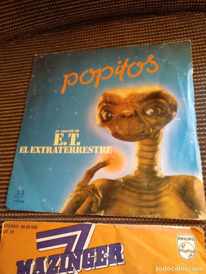 Vinyl-Schallplatten: Single Mazinger Z 1978 y E.T.el extraterrestre 1982 - Foto 2 - 131339346