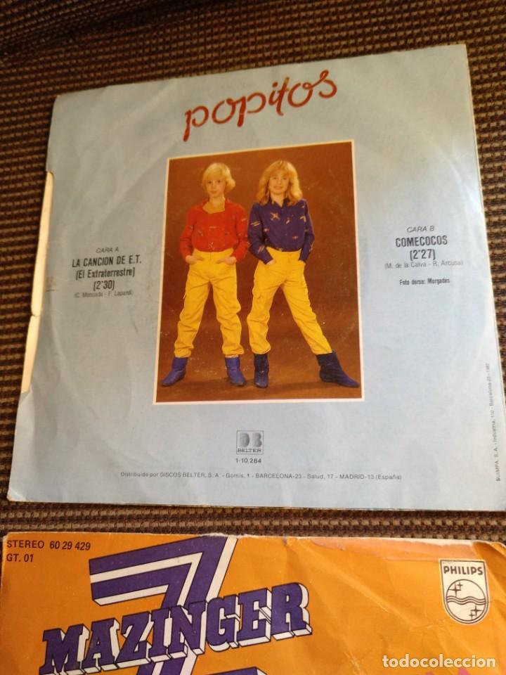 Vinyl-Schallplatten: Single Mazinger Z 1978 y E.T.el extraterrestre 1982 - Foto 3 - 131339346
