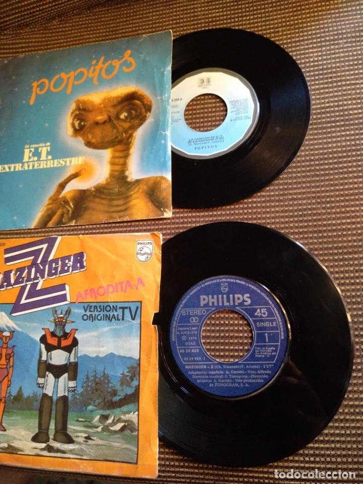 Vinyl-Schallplatten: Single Mazinger Z 1978 y E.T.el extraterrestre 1982 - Foto 4 - 131339346