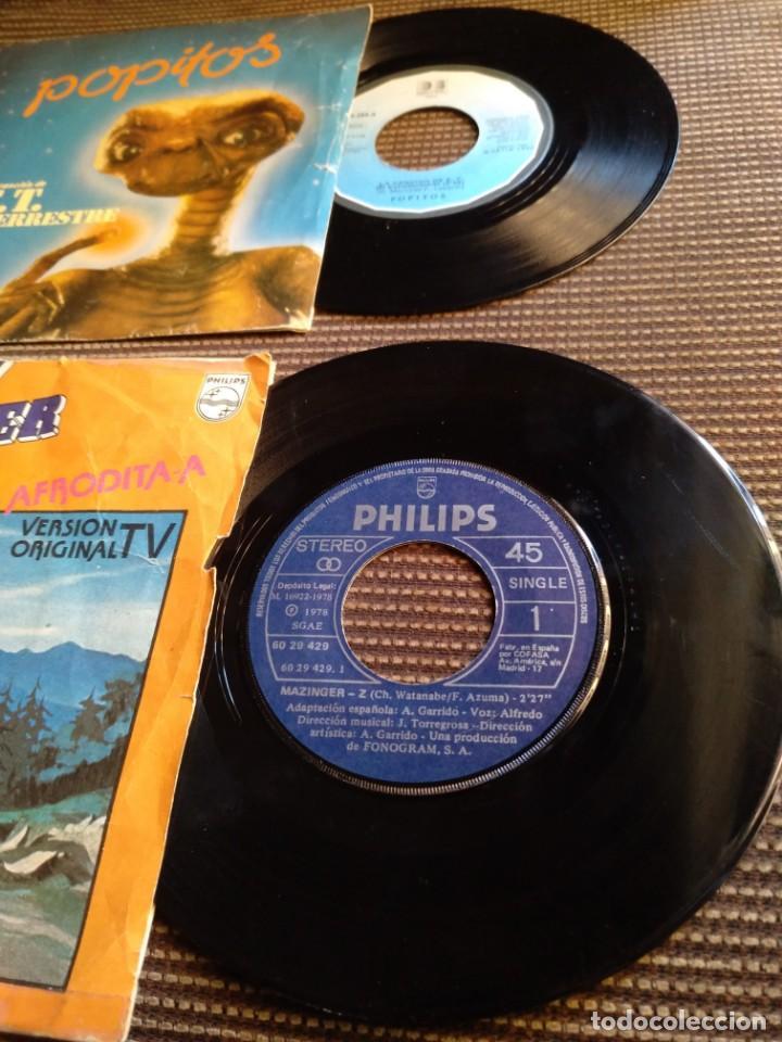 Vinyl-Schallplatten: Single Mazinger Z 1978 y E.T.el extraterrestre 1982 - Foto 5 - 131339346