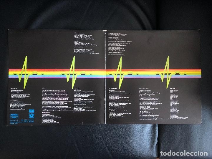 Discos de vinilo: Pink Floyd – The Dark Side Of The Moon Sello: Harvest – Spain 1973 - Gatefold - Foto 3 - 131341238
