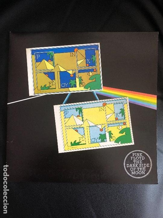 Discos de vinilo: Pink Floyd – The Dark Side Of The Moon Sello: Harvest – Spain 1973 - Gatefold - Foto 5 - 131341238