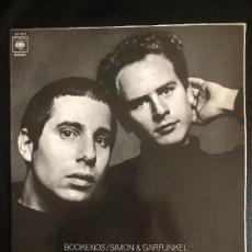 Discos de vinilo: SIMON & GARFUNKEL ?– BOOKENDS SELLO: CBS ?– S-63101 FORMATO: LP - SPAIN 1970. Lote 131341702