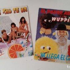 Discos de vinilo: LOTE DE 2 SINGLES GRUPO PARCHIS Y EL PADRE ABRAHAN Y LOS WUPPIES MUY BUEN ESTADO PROBADOS VER FOTOS. Lote 131358682