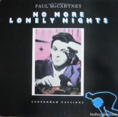 Discos de vinilo: PAUL MCCARTNEY (THE BEATLES): NO MORE LONELY NIGHTS (EXTENDED VERSION) / SILLY LOVE SONGS + 1. Lote 131363582