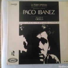 Discos de vinilo: PACO IBAÑEZ LP LOS UNOS POR LOS OTROS 1968 GATEFOLD VG+. Lote 131364998