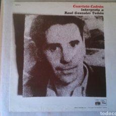 Discos de vinilo: PACO IBAÑEZ LP INTERPRETA A PABLO NERUDA 1977 GATEFOLD VG+. Lote 131365530