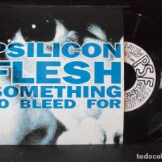 Discos de vinilo: EP PSILICON FLESH (SOMETHING TO BLEED FOR) 1993 SUBTERFUGE RECORDS NUEVO¡¡¡. Lote 131365838