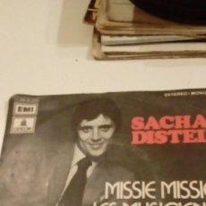 Discos de vinilo: BAL-3 7 PULGADAS DISCO CHICO SACHA DISTEL MISSIE. Lote 131380734