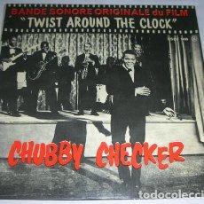 Discos de vinilo: CHUBBY CHECKER – TWIST AROUND THE CLOCK - EP. Lote 131381446