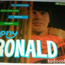 Discos de vinilo: TONY RONALD - LA INMENSIDAD + 3 - EP 1967. Lote 131381514