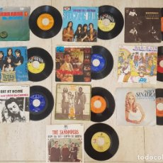 Discos de vinilo: LOTE DISCO VINILO THE SANPIPERS PACIFIC GAS BAR KAYS CHICAGO SHOCKING BLUE CLIFF RICHARD EAT AT HOME. Lote 131382066
