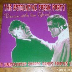 Discos de vinilo: VARIOUS-THE ASTOUNDING FREAK PARTY LP 10 PULGADAS .2011-GARAGE/PSYCHEDELIC ROCK (COMPRA MINIMA 15 EU. Lote 131386846