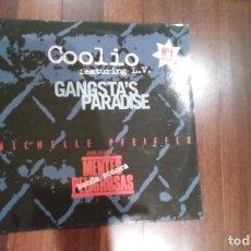 Discos de vinilo: COOLIO FEATURING L.V.-GANGSTA'S PARADISE.MAXI. Lote 131387750