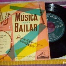 Discos de vinilo: XAVIER CUGAT- MUSICA PARA BAILAR - LA VOZ DE SU AMO 1959 FRENESÍ PERFIDIA BLEN BLEN BLEN LA COMPARS. Lote 131400230