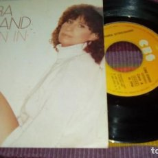 Discos de vinilo: BARBRA STREISAND ( WOMAN IN LOVE - RUN WILD ) 1980 - SINGLE CBS. Lote 131403826