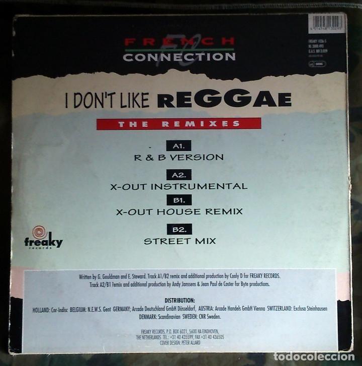 French Connection – I Don't Like Reggae (The Remixes) 1993 Electronic, Hip  Hop, Reggae