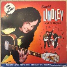 Discos de vinilo: DAVID LINDLEY AND EL RAYO-X ?– WIN THIS RECORD! SELLO: ASYLUM RECORDS ?– 52421 FORMATO: VINYL, LP. Lote 131415394