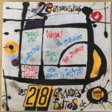 Discos de vinilo: LOS 28 GRANDES ÉXITOS SELLO: WEA RECORDS LTD. ?– HITS 28 FORMATO: VINYL, LP, COMPILATION PAÍS: SPAI. Lote 131421830