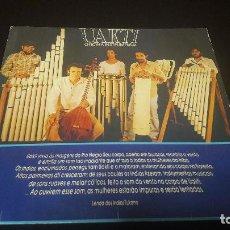 Discos de vinilo: UAKTI -OFICINA INSTRUMENTAL ED. BRASILEÑA 201 633 REED. DE 1985 BUEN ESTADO. Lote 131427846