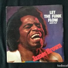 Discos de vinilo: JAMES BROWN-LET THE FUNK FLOW. Lote 131439890