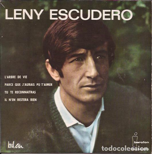 EP-LENY ESCUDERO IBEROFON 5070 SPAIN 1964 (Música - Discos de Vinilo - EPs - Canción Francesa e Italiana)