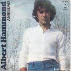 Disques de vinyle: ALBERT HAMMOND,ANSIEDAD DEL 76. Lote 131482842