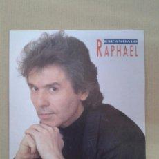 Discos de vinilo: SINGLE - RAPHAEL - ESCANDALO - PROMO. Lote 131484478