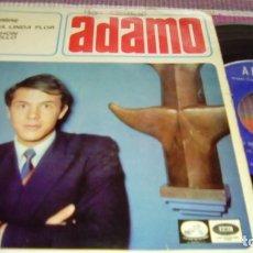 Discos de vinilo: ADAMO - UN MECHON DE CABELLO / TU NOMBRE + 2 - EP - LA VOZ DE SU AMO 1966 SPAIN. Lote 131487322