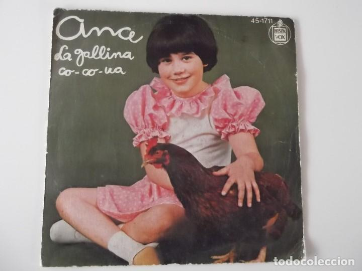 ANA - LA GALLINA CO-CO-UA (Música - Discos - Singles Vinilo - Música Infantil)