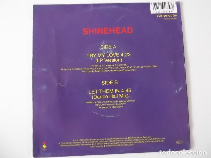 Discos de vinilo: SHINEHEAD - Try my love - Foto 2 - 131489074