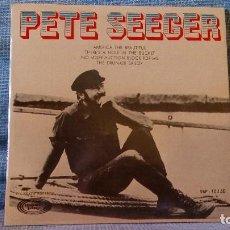 Discos de vinilo: PETE SEEGER - AMERICA THE BEAUTIFUL + 3 - EP ESPAÑOL MOVIEPLAY AÑO 1970 - CON INSERTO - COMO NUEVO . Lote 131495406